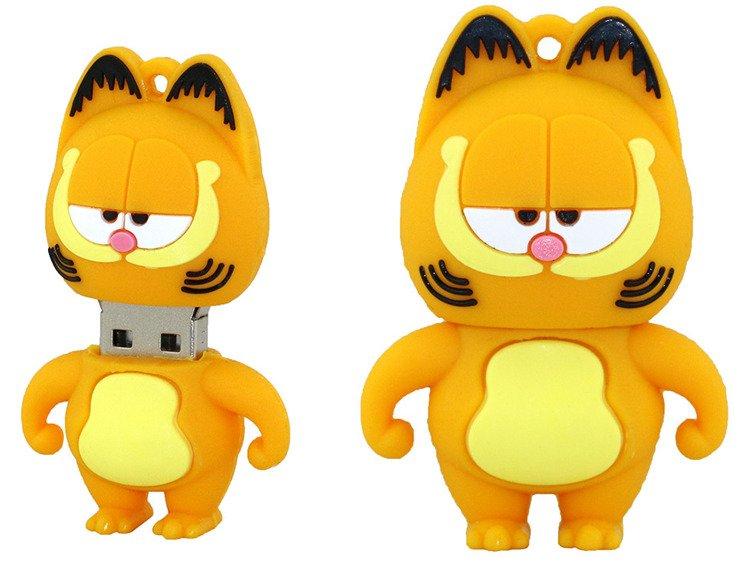 Pendrive Kot Garfield Usb Flash Wysyłka 24h Pendrive 8gb Indygo