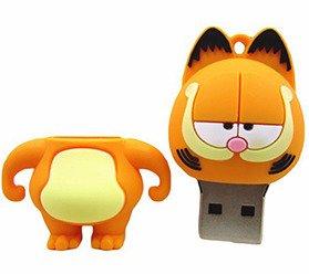 Pendrive Kot Garfield Usb Flash Wysyłka 24h 16gb Pendrive 16gb