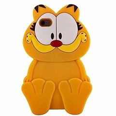 Etui Futerał Iphone 66s Kot Garfield Etui Etui Iphone Apple